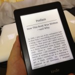 Kindle Paperwhiteを買っちゃいました。