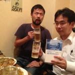 「タダコピ」の創業者の1人太田さんとお好み焼きを食べました