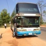 カンボジアをブラタツヤ[その4:シェムリアップ → プノンペン バスの旅(前編)]