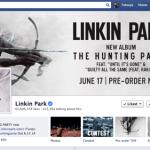 (エロ注意)リンキンパークのFacebookがエロサイトにハックされてます!