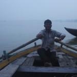 【44歳中年サラリーマン、初めてのインドひとり旅】4日目早朝:ガンジス川のボートに乗る
