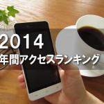 Tatsuya's Blog アクセスランキング 2014