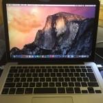 MacBook 買い替えました。