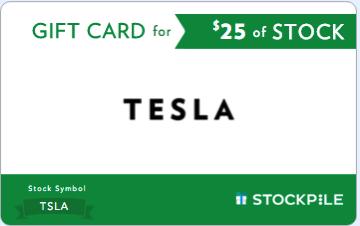 Tesla stockpile