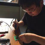 近所の電子工作教室に参加しました(その1:初はんだ付け、AMラジオ製作)
