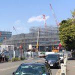 新国立競技場(建設中)周辺をブラタツヤ