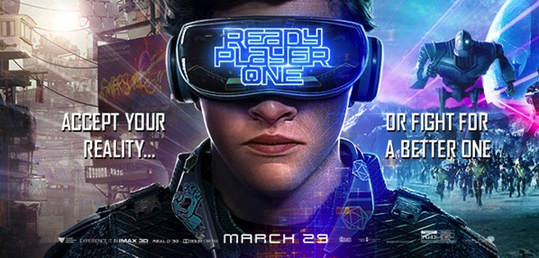 Ready Player One poster digital addicts VR movie poster