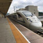 中国高速鉄道の旅(その2:深圳→重慶)