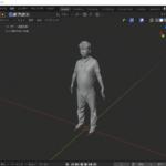 【Blender】インポートした3Dモデルのファイルにテクスチャをつける方法